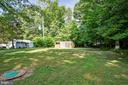 Large Backyard and Shed forStorage - 26 BREEZY HILL DR, STAFFORD