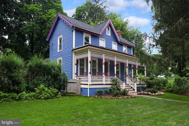 Single Family Homes для того Продажа на Frenchtown, Нью-Джерси 08825 Соединенные Штаты