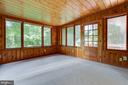 New carpet in Sunroom addition fully insulated - 1007 COLLINGWOOD RD, ALEXANDRIA