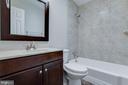Full Bath in hall - 1007 COLLINGWOOD RD, ALEXANDRIA