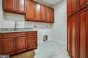 LAUNDRY ROOM - 132 MONTICELLO CIR, LOCUST GROVE