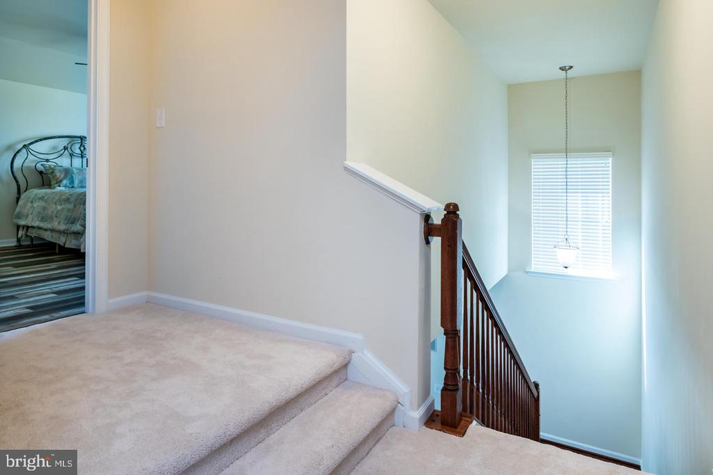 BRAND NEW upper level hallway carpet - 24496 LENAH TRAILS PL, ALDIE