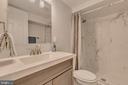 Full bath in basememt - 5426 BASS PL SE, WASHINGTON