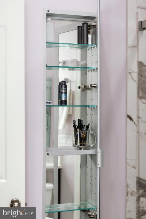 Master bath w/6' tall mirrored medicine cabinet - 20 LOGAN CIR NW #3-3, WASHINGTON