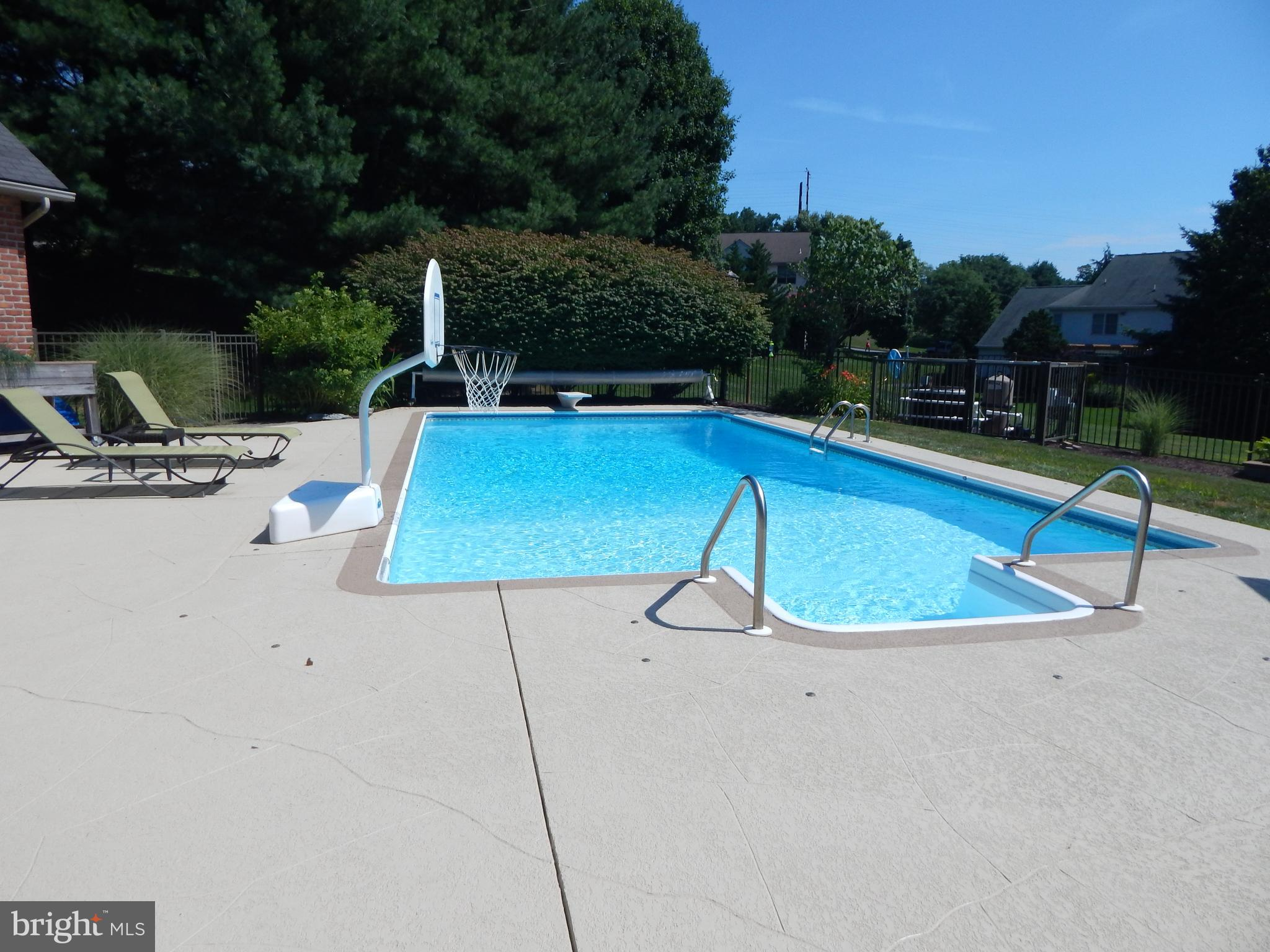 New summer photos of pool area