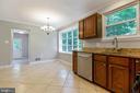 Kitchen has so much light & so much room - 5119 LAVERY CT, FAIRFAX