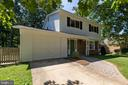 1 car garage and room for additional parking - 5119 LAVERY CT, FAIRFAX