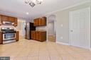 Kitchen has so much floor space - 5119 LAVERY CT, FAIRFAX