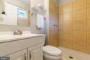 Master bath has an amazingly large shower - 5119 LAVERY CT, FAIRFAX