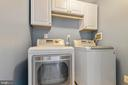 Laundry is located on main level with storage! - 5119 LAVERY CT, FAIRFAX