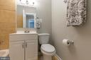 Upstairs hall bath has tub and shower - 5119 LAVERY CT, FAIRFAX