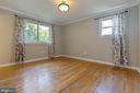 Master bedroom is roomy and bright - 5119 LAVERY CT, FAIRFAX