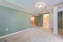 Bonus room opens into a full bathroom - 5119 LAVERY CT, FAIRFAX
