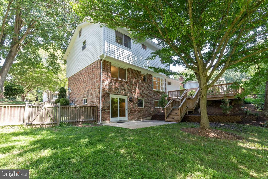 Back of the house - 5119 LAVERY CT, FAIRFAX