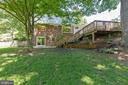 Yard is great with so much room to play - 5119 LAVERY CT, FAIRFAX