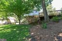 Backyard has entertainment areas and room to relax - 5119 LAVERY CT, FAIRFAX