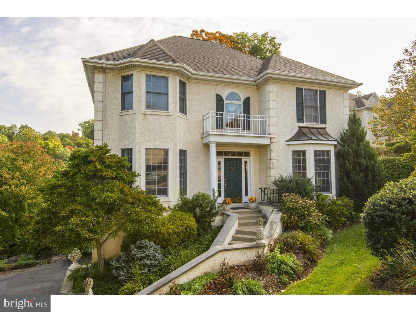 Photo of home for sale at 107 Merion Hill Lane, Conshohocken PA