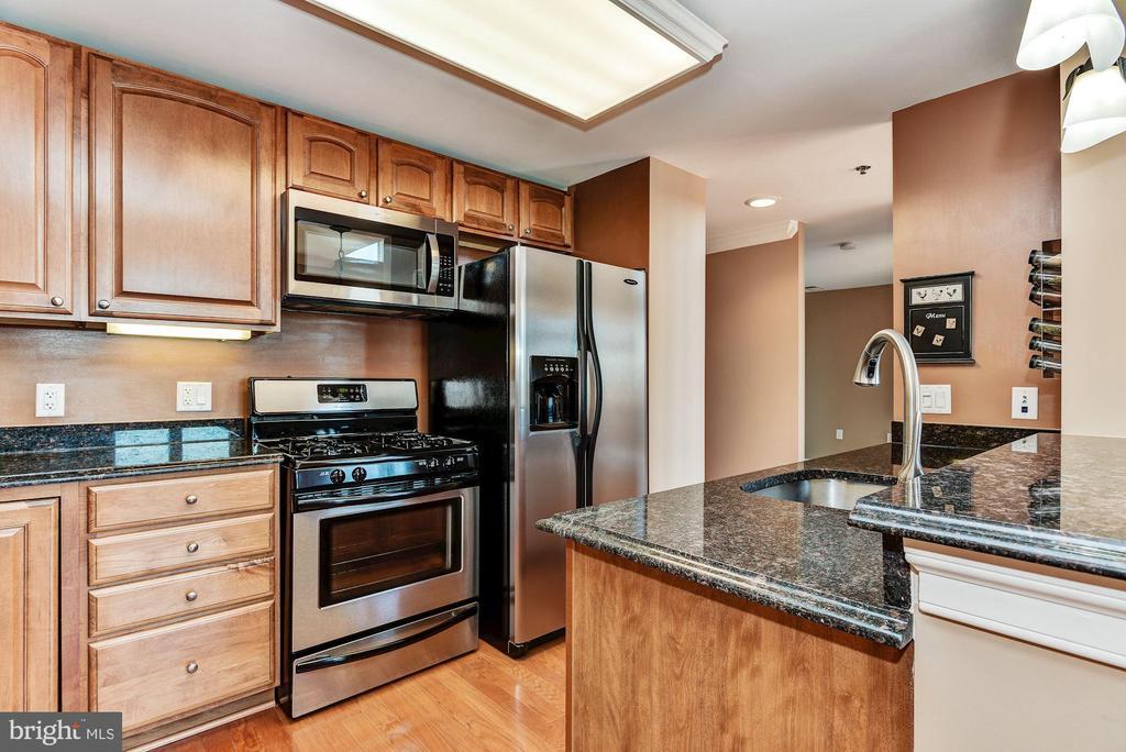 Kitchen - 38 MARYLAND AVE #PH613, ROCKVILLE