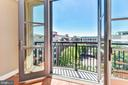 Balcony - 38 MARYLAND AVE #PH613, ROCKVILLE