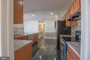 Recessed Lights in Kitchen - 107 BAKER LN, STERLING