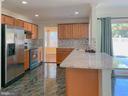 Kitchen with Ceramic Tiles florring - 107 BAKER LN, STERLING