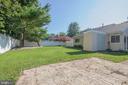 Fully Fenced Backyard - 107 BAKER LN, STERLING