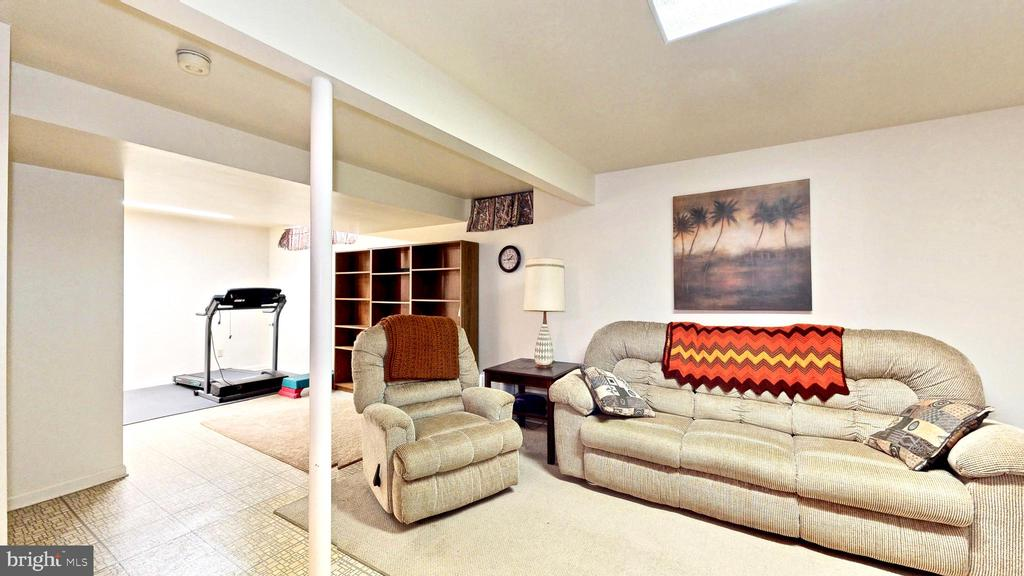 Basement Rec room - 13519 MOSS GLEN RD, CLIFTON