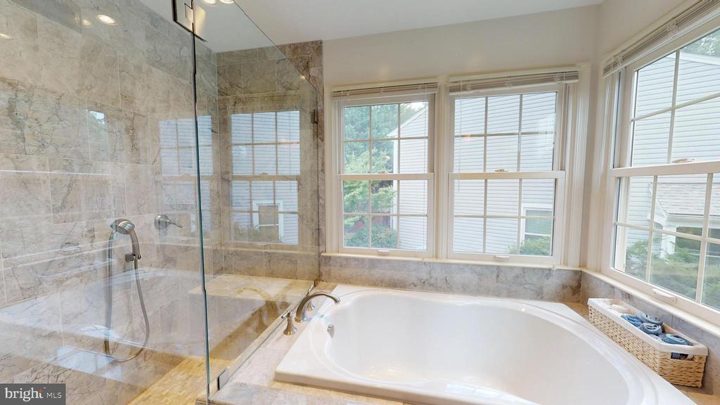 Master Bath - Separate Tub & Shower - 13519 MOSS GLEN RD, CLIFTON