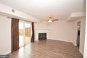 Wood burning fireplace. - 22326 MAYFIELD SQ, STERLING