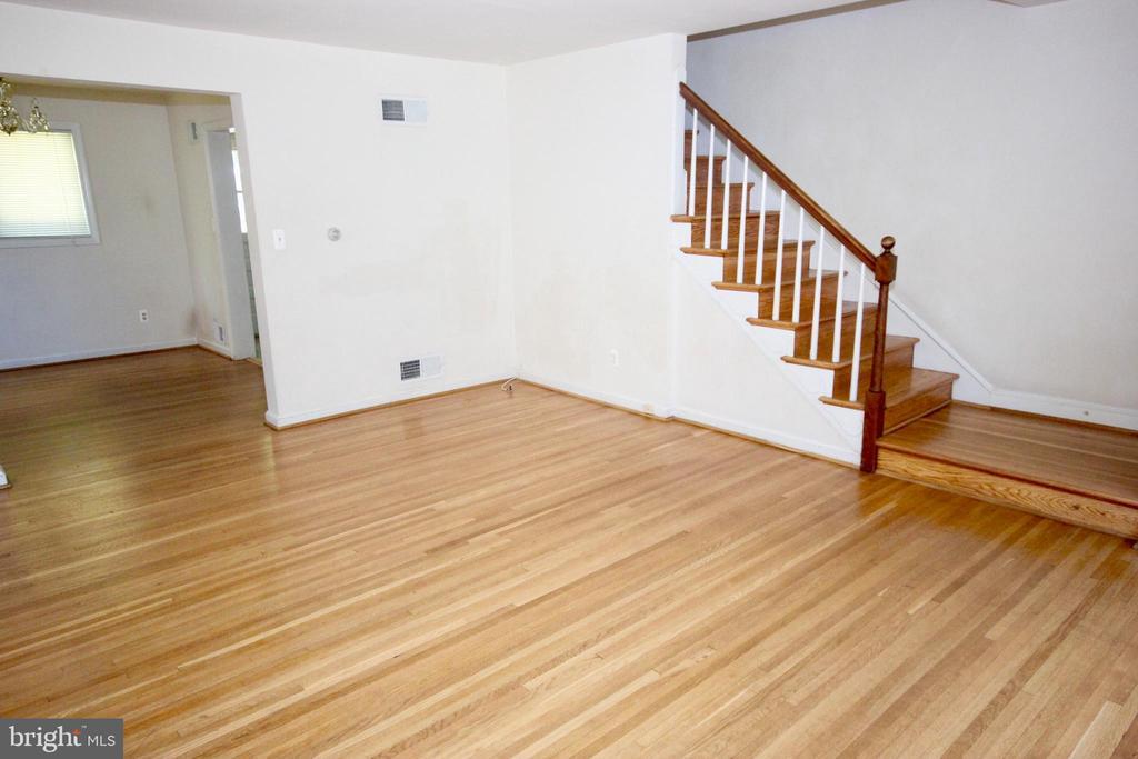 Living Room & Dining Room - 4808 20TH PL N, ARLINGTON