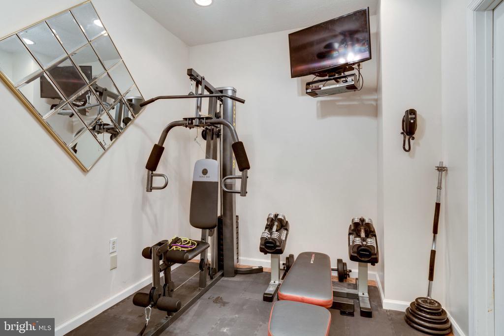 Weight Room Basement - 5432 QUAINT DR, WOODBRIDGE