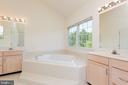 Master Suite Bath with Soaking Tub - 25558 MIMOSA TREE CT, CHANTILLY
