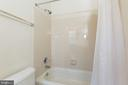 Jack and Jill Bathroom (Shower & Bathtub) - 25558 MIMOSA TREE CT, CHANTILLY