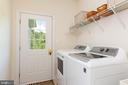 Laundry Room on Main Level - 25558 MIMOSA TREE CT, CHANTILLY