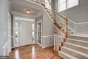 Stunning Foyer with Dramatic Staircase - 22022 SUNSTONE CT, BROADLANDS