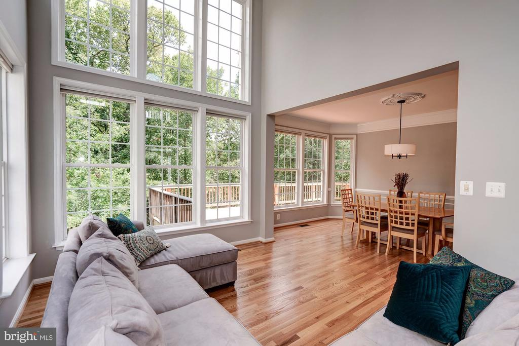 Beautiful Living Room Backing to Trees - 22022 SUNSTONE CT, BROADLANDS