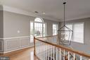 New Foyer Chandelier - 22022 SUNSTONE CT, BROADLANDS