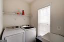 Convenient Upstairs Laundry Room - 22022 SUNSTONE CT, BROADLANDS