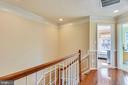 Upper hall with hardwood flooring - 21935 WINDY OAKS SQ, BROADLANDS