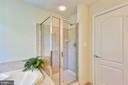 Master bath with full sized shower - 21935 WINDY OAKS SQ, BROADLANDS