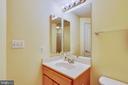 Lower level full bath~ - 21935 WINDY OAKS SQ, BROADLANDS