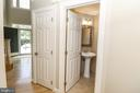 Powder Room on Main Level - 43350 SNEAD LN, SOUTH RIDING