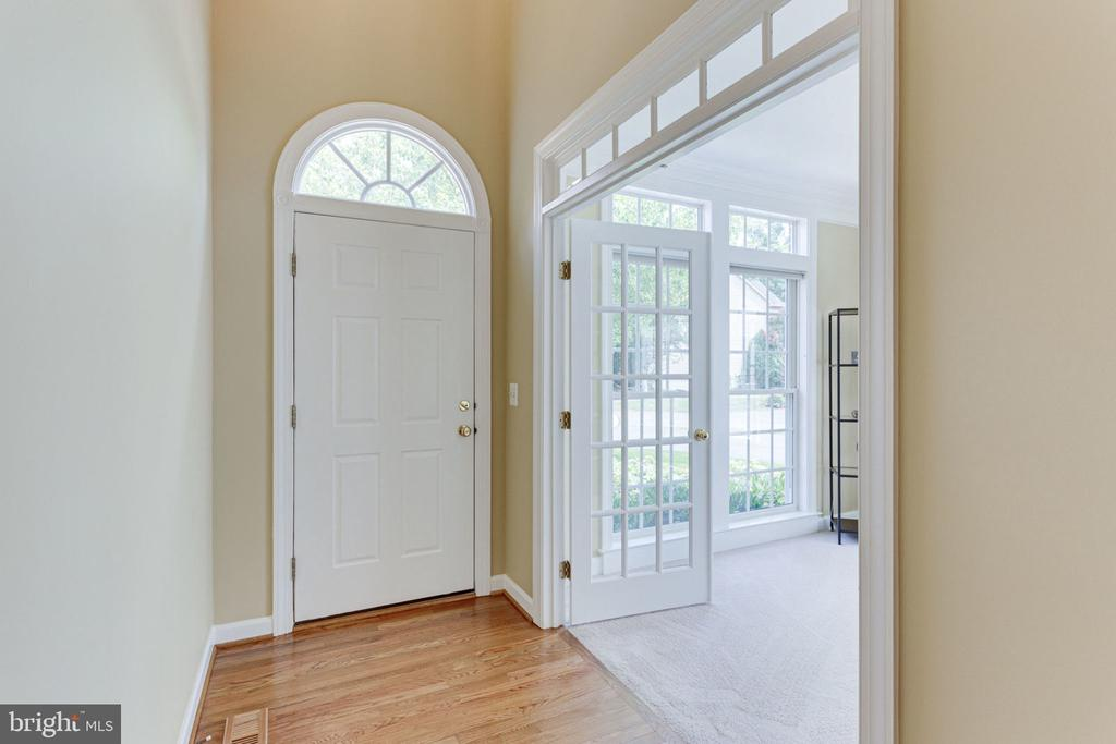 French Doors Leading to First Floor Office - 2625 AMANDA CT, VIENNA