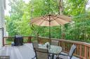 Private Backyard Setting - 2625 AMANDA CT, VIENNA