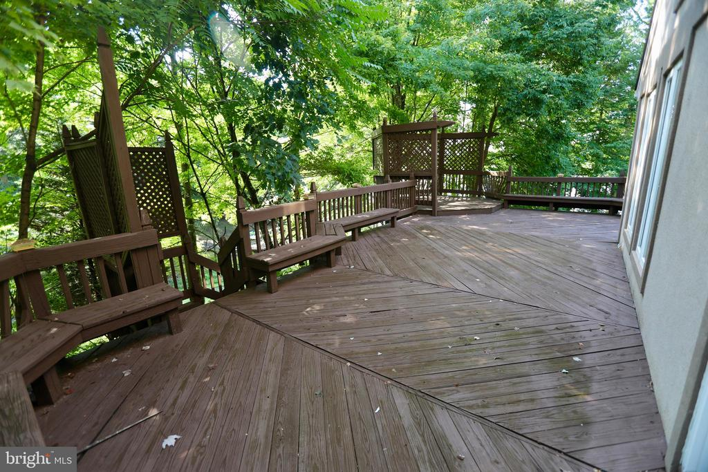 HUGE REAR DECK - 5407 WYNDEMERE CIR, MINERAL