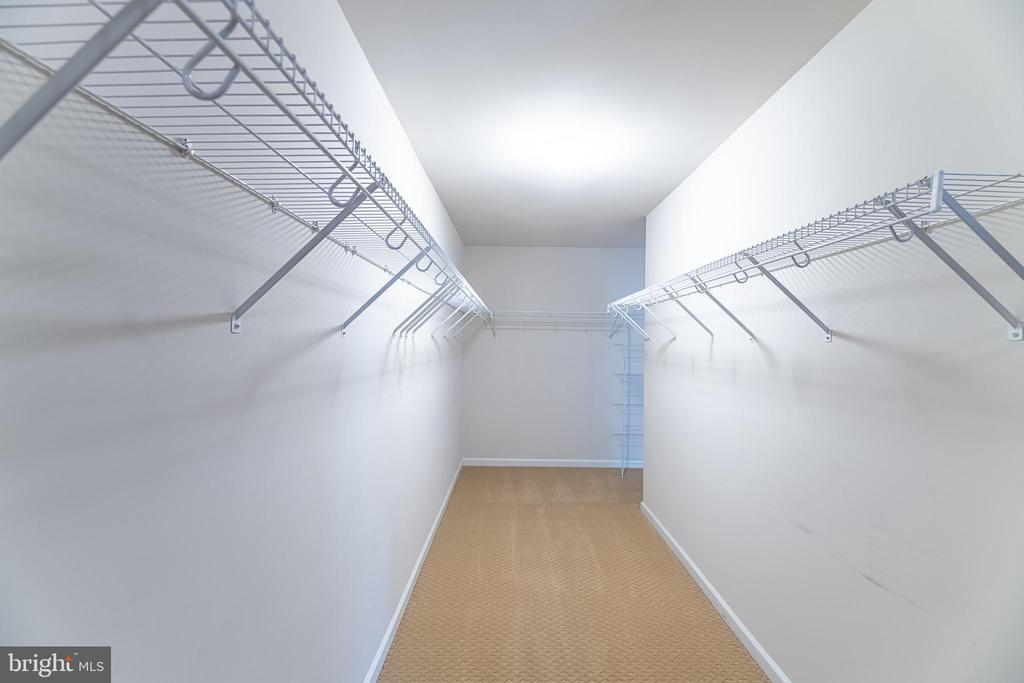 Look at this incredible walk-in closet! - 23068 PECOS LN, BRAMBLETON