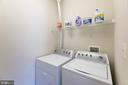 Laundry room off kitchen - 23068 PECOS LN, BRAMBLETON