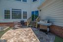 Patio - perfect for those summer BBQs! - 23068 PECOS LN, BRAMBLETON