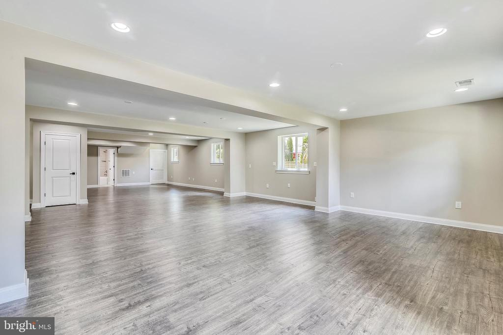Basement Rec area - 2902 LINDEN LN, FALLS CHURCH