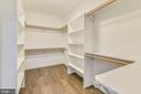 Master Closet - 2902 LINDEN LN, FALLS CHURCH